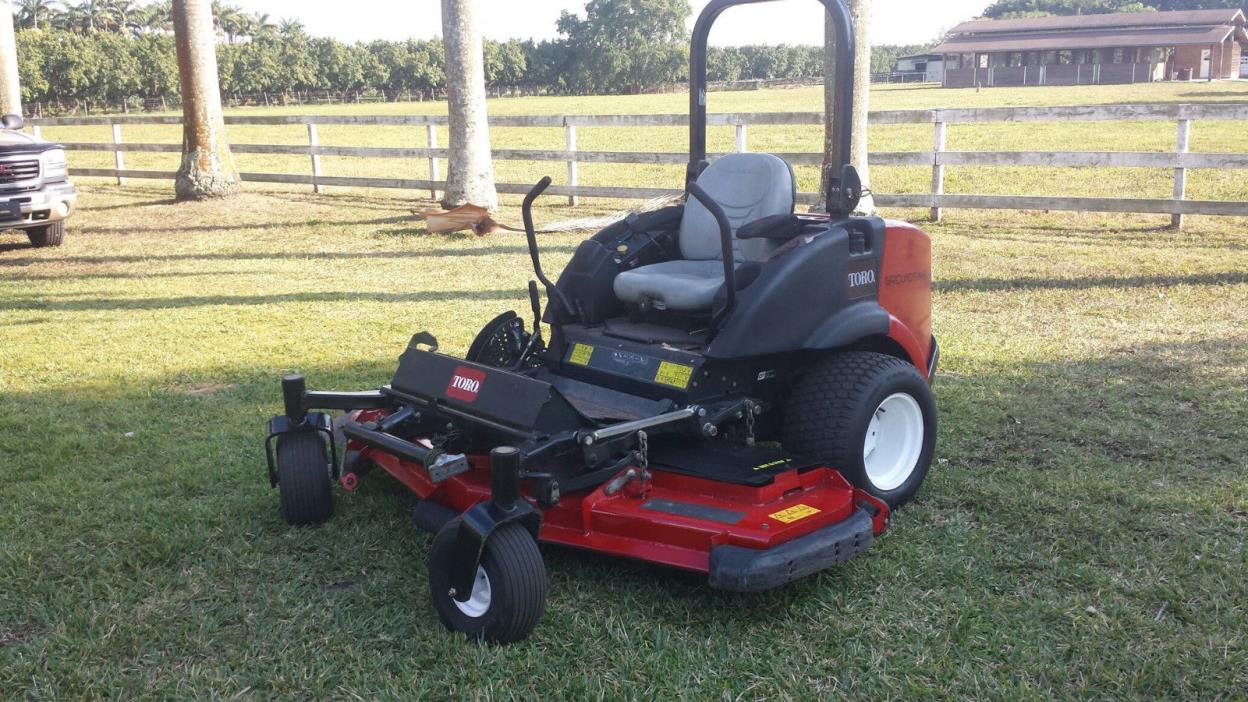 Toro Groundsmaster 7200 Zero Turn Mower Price Reduced!!
