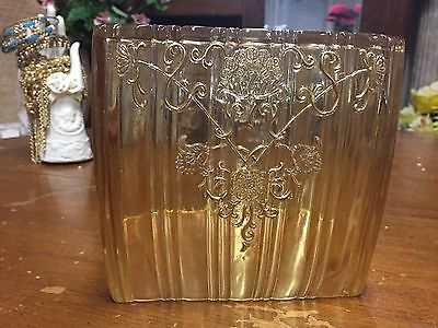 Vintage Antique Square Tissue Box Cover Holder