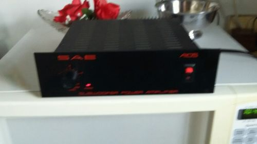 SAE A105 stereo Subwoofer Power Amplifier for tuner,receiver,amp,preamp system