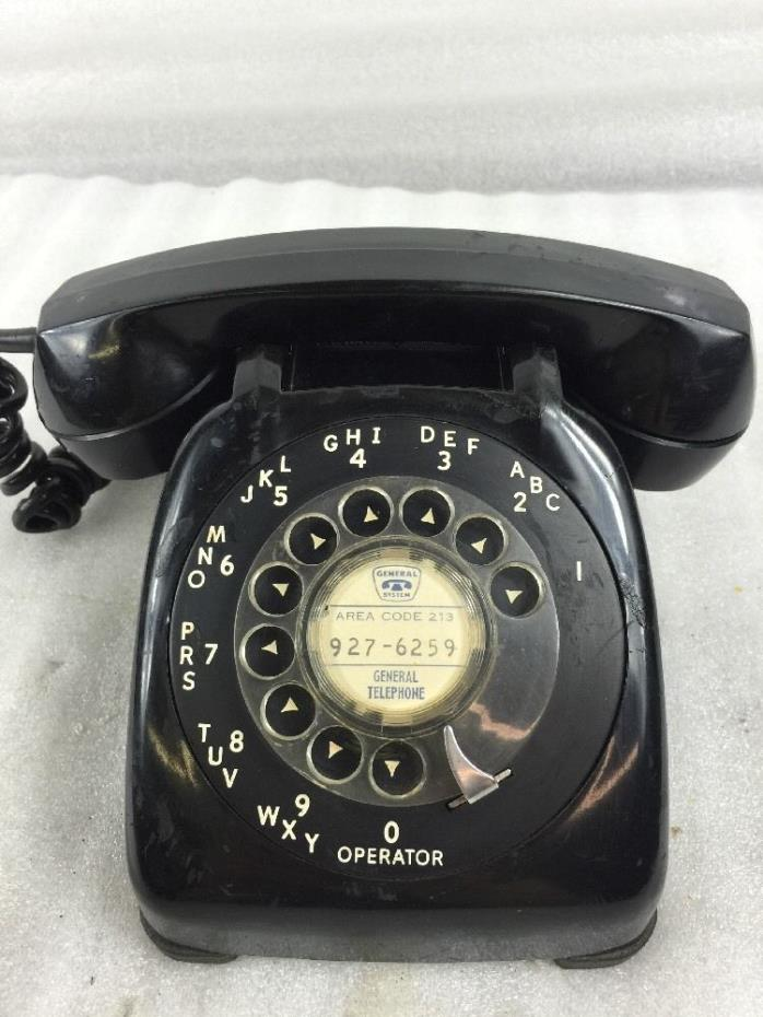Vintage Black Rotary Phone For Sale Classifieds