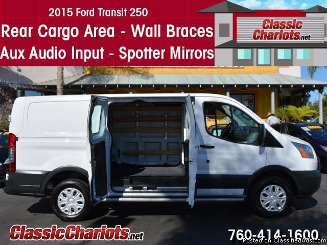 Used 2015 Ford Transit 250 Cargo Van for Sale in San Diego - Stock # 14091R