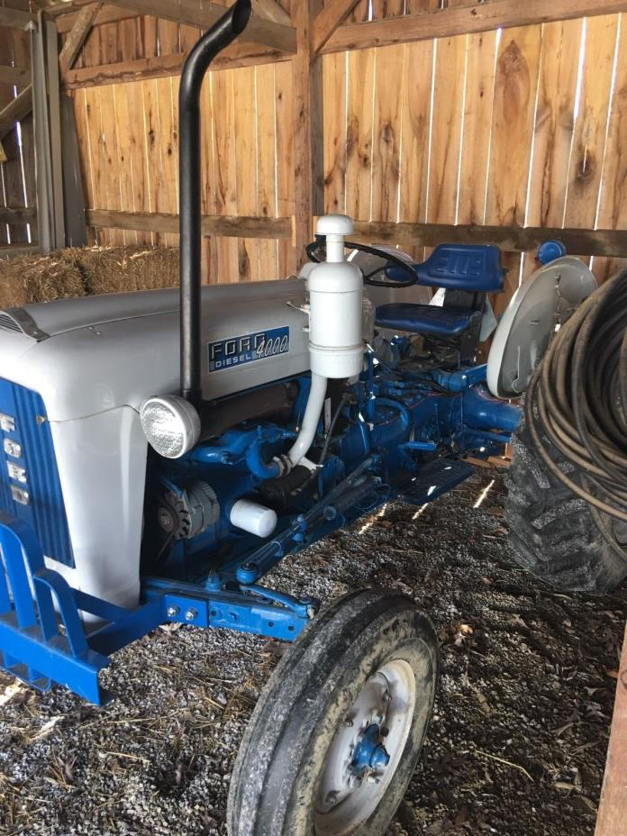 Ford 4000 Diesel Tractor : Ford for sale classifieds