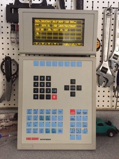 Van Dorn  Operator Panel OP398 (excellent condition)