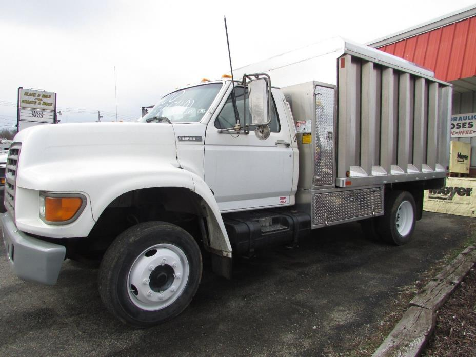 1997 FORD F SERIES LO PRO CHIP TRUCK HEAVY DUTY ALUMINUM