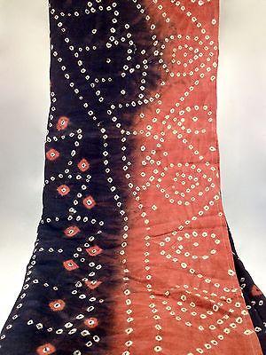 Vintage Central Asian Dyed Textile
