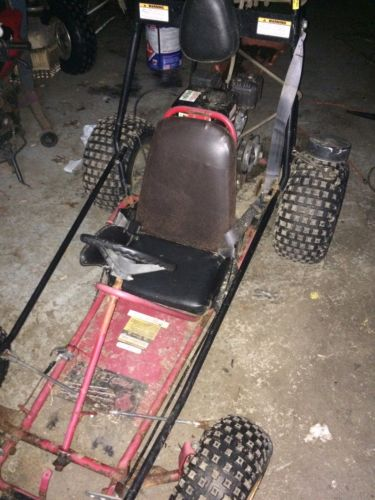 RedFox Vintage Go Kart With Brand New 212 CC  Engine