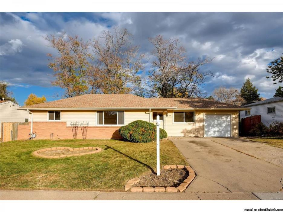Beautiful ranch home located just minutes from Belmar.