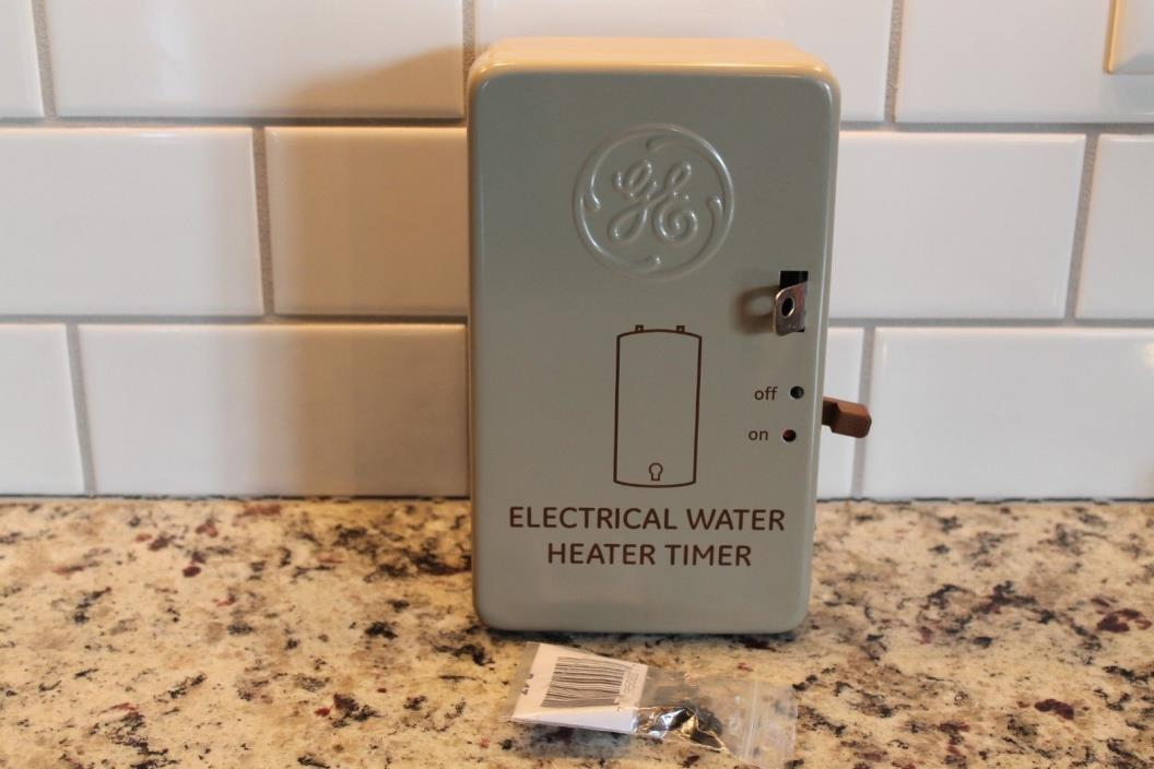 GE 40 Amp 120/240V Volt 24-Hour Indoor Water Heater Timer 15146