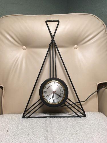 Sessions Art Deco Wall Mount Clock