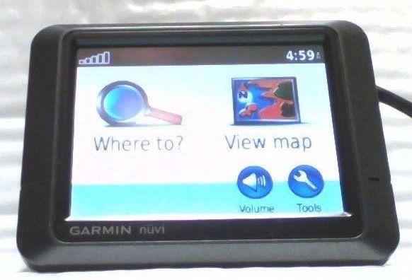 USED Garmin Nuvi 205 GPS Receiver