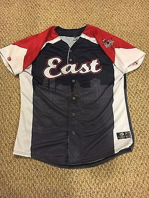 2015 Justus Sheffield Game Worn Used All Star Jersey New York Yankees Prospect