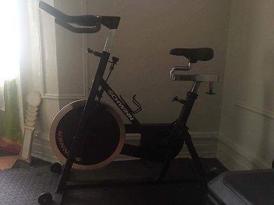 schwinn stationary spin bike