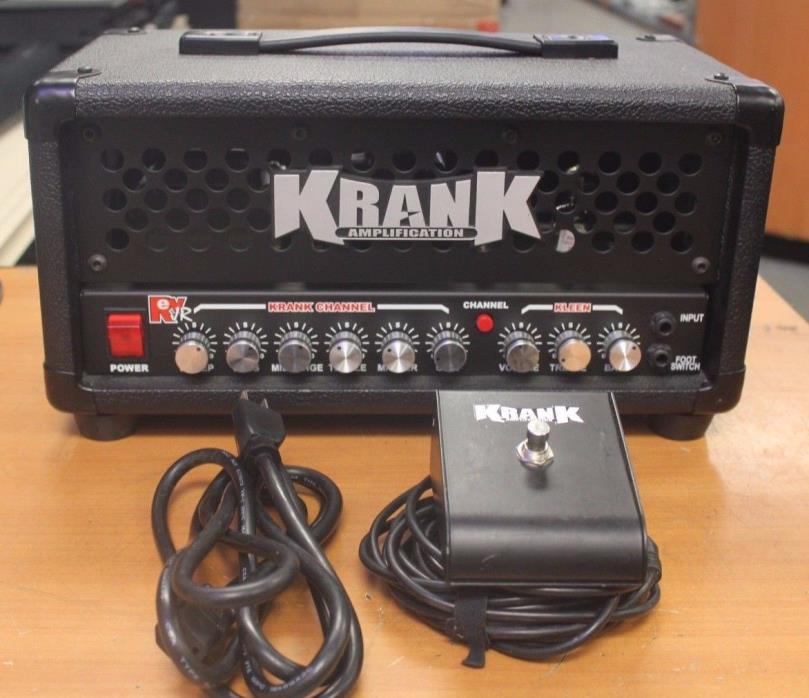 Krank Rev Jr. 20W Tube Guitar Amplifier