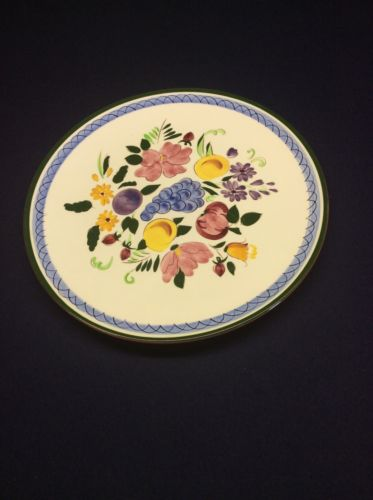 Stangl Fruit And Flowers Plate