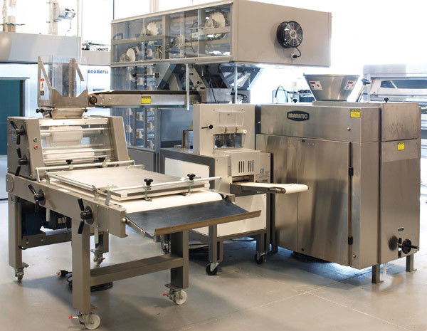 Adamatic ADR2 Dough Divider Rounder Bread Glimek Sheeter, Proofer Bread Line