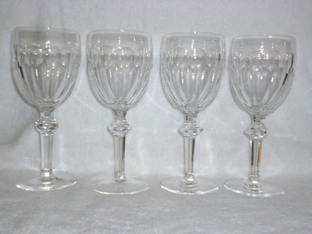 4 Waterford Crystal Curraghmore Water Goblets