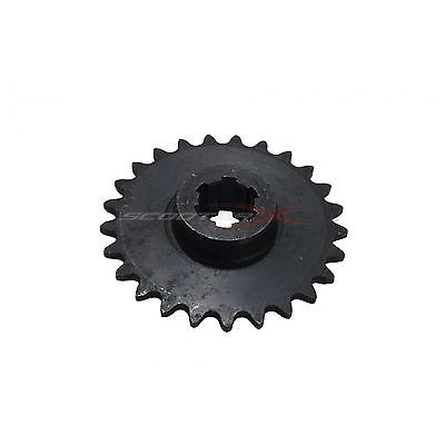 25 Tooth Transmission Sprocket Gear Gas ScooterX Dirt Dog Pocket Dirt Bike Motor