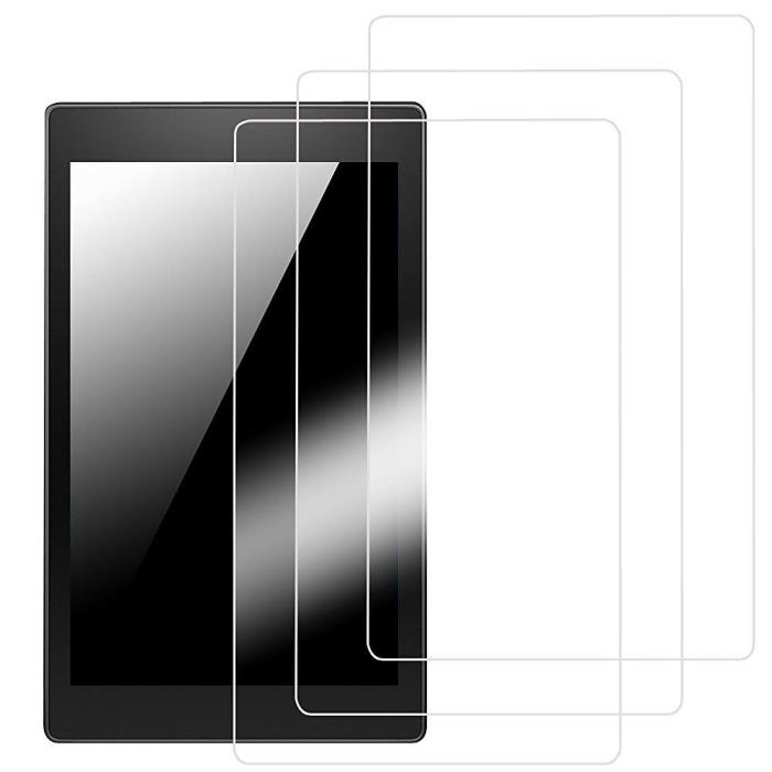 Fintie 3-Pack Clear Premium Screen Protector Film Guard for Apple iPad 2, iPad 3