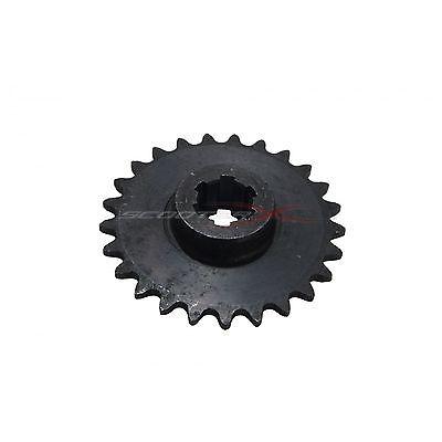25 Tooth Transmission Sprocket Gear Gas Xtreme Dirt Dog Pocket Dirt Bike Motor