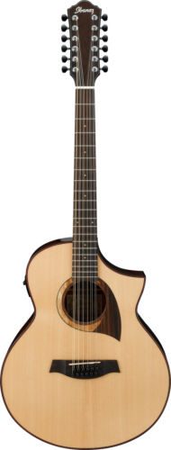 Ibanez AEW2212CDNT 12-string Acoustic-Electric Guitar Spruce and Walnut