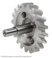 9N6608A Year1939-52 Oil Pump Gear Shaft Assy. For 9/16