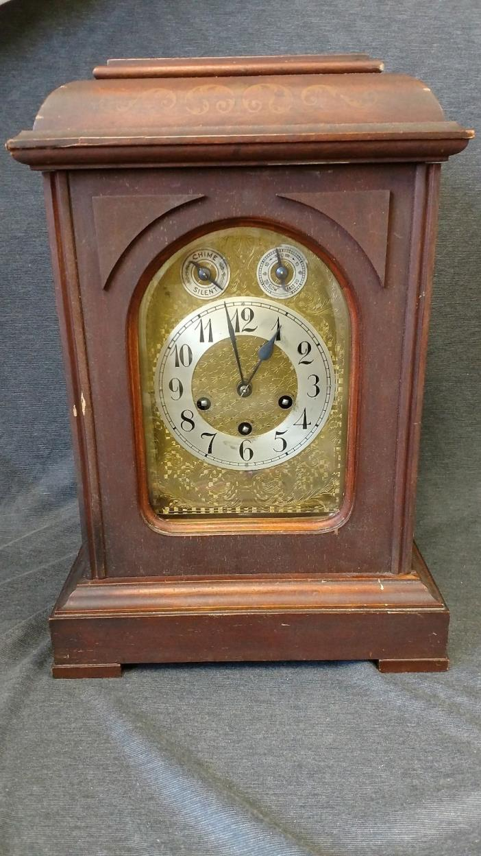 Antique Junghans Mantle Clock Westminster Chimes