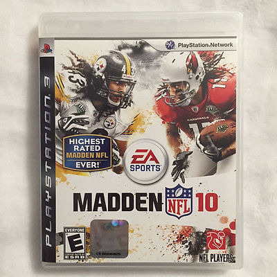 Madden NFL 10 (PS3, Playstation 3) Complete! Ships Fast!