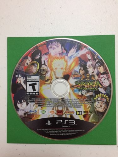 Naruto Shippuden: Ultimate Ninja Storm Revolution PS3 (Sony PlayStation 3, 2014)