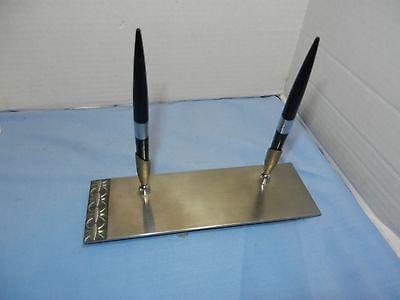 Desk Top Steel Pen Set