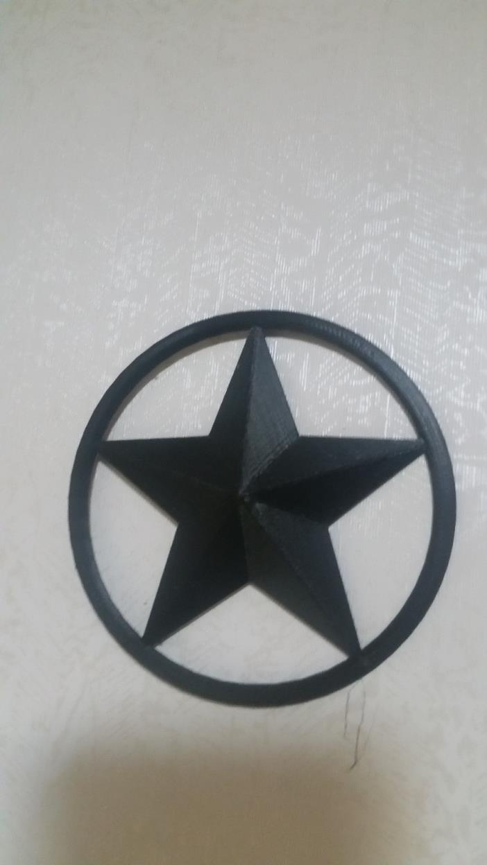 3D Printed Star