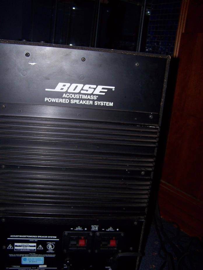 BOSE ACOUSTIMAS POWER SUBWOOFER SUBWOOFER