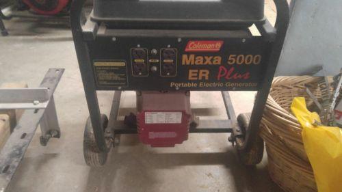 5000 Watt Coleman Generator - For Sale Classifieds