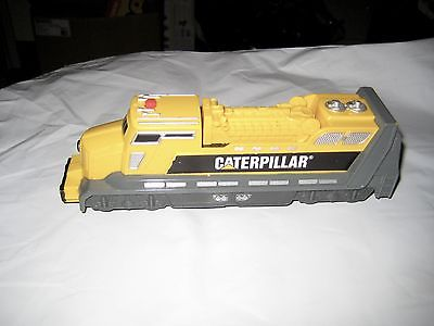 PREOWNED ELECTRIC TRAIN PLASTIC  CATERPILLAR ENGINE ONLY TOYSTATE
