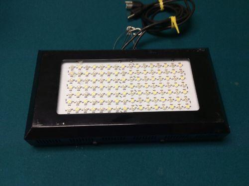 Aquarium LED Light 112x1W White:Blue 1:1 120W Grow Light Black - USED