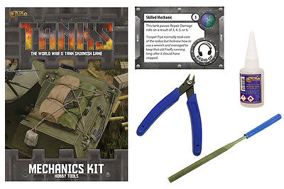 Tanks: Mechanics Kit (Hobby Tools)