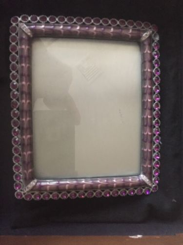 Jay Strongwater Crystal Picture Frame