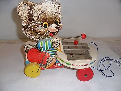 Fisher-Price #738 Shaggy Zilo Musical Pull Toy