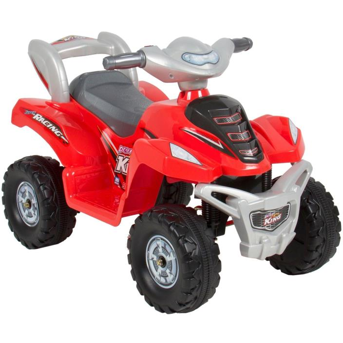NEW Kids Ride On ATV 6V Toy Quad Battery Power Electric 4 Wheel Power Bicycle