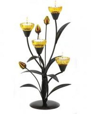 Tiger Lily Tea Light Holder