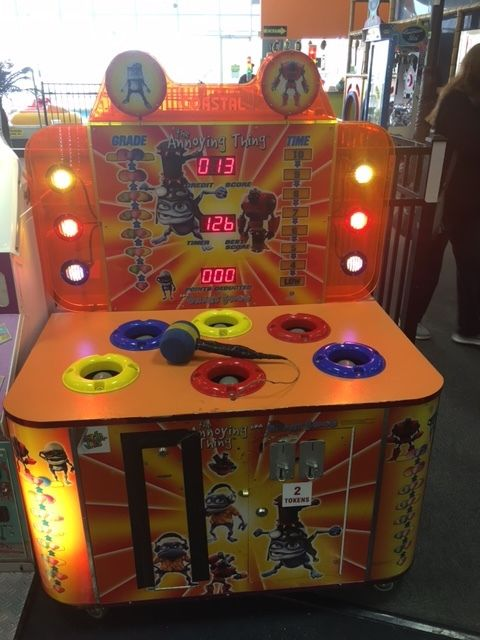 THE ANNOYING THING REDEMPTION / ARCADE GAME