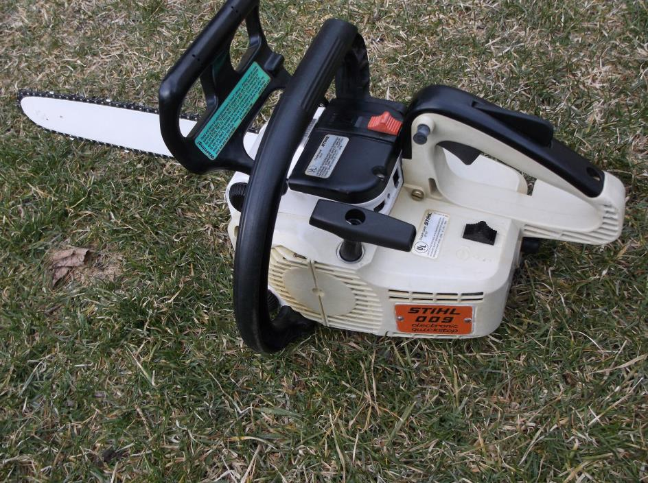 Stihl 009 Chainsaw 14