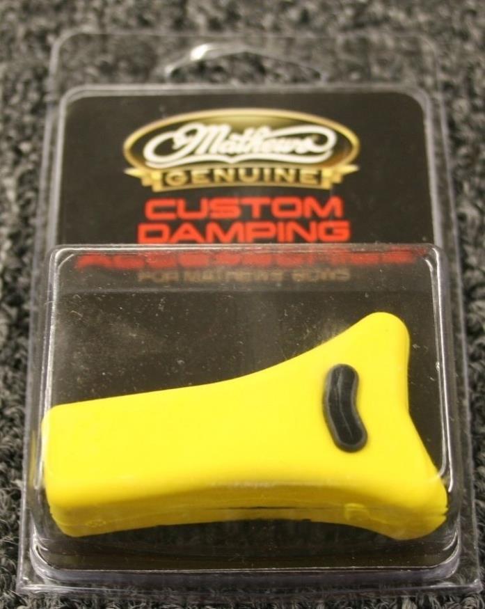 Brand New Mathews Custom Damping Accessories