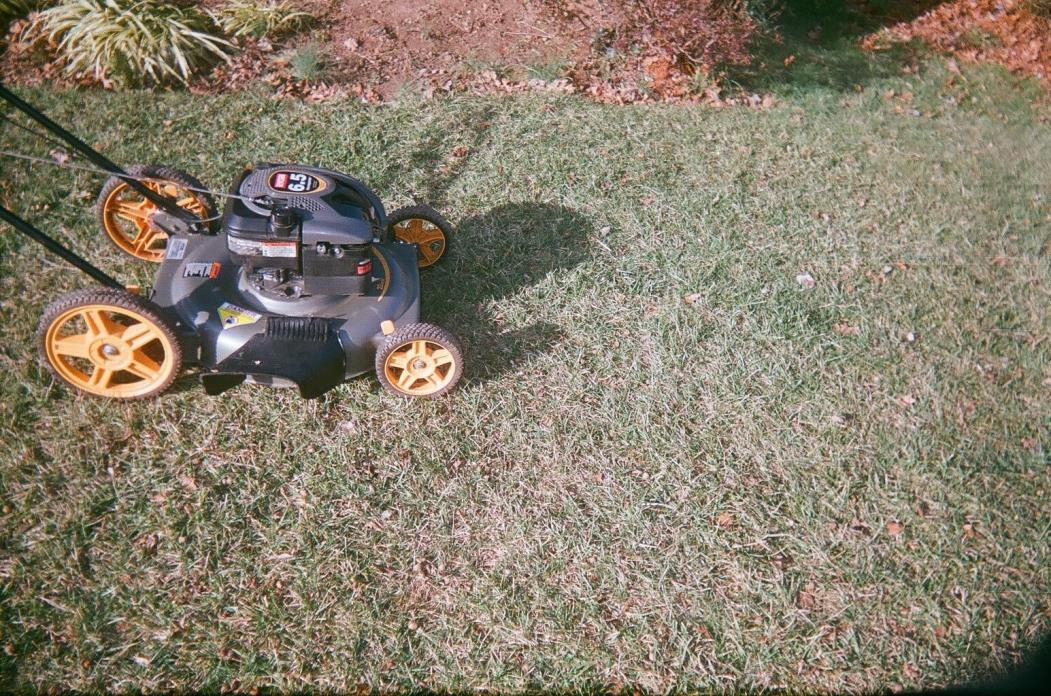 Ryobi 22in lawn mower side discharge