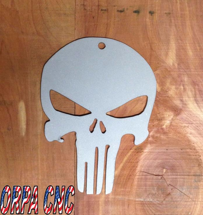 Punisher metal wall sign ready for paint