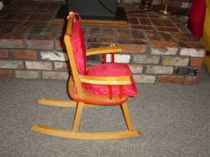 Rocking Chair, childs (Port Orchard)