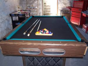 Pool Table, Air Hockey, Fooseball Table