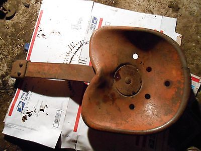 Allis Chalmers   wd45 tractor seat steampunk  antique tractor