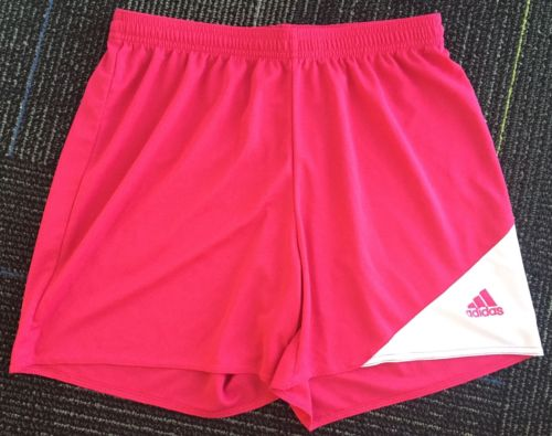 Adidas Pink Youth Medium Girls Athletic Soccer Gym Shorts