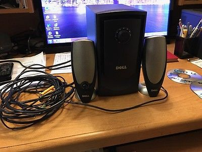 DELL ZYLUX MULTIMEDIA COMPUTER SPEAKERS