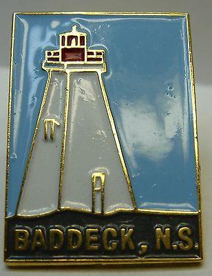 Canada Nova Scotia Baddeck used Hat Lapel Pin Tie Tac HP2842